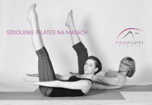 plakat szkolenia pilates na matach